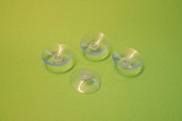 Bilde av Support L sugekopp til glassplate - Ø4 cm, 4 stk