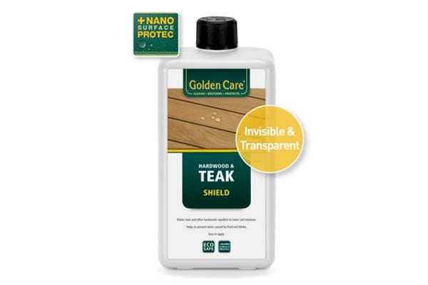Bilde av Golden Care transparent Teak Shield - 1 liter