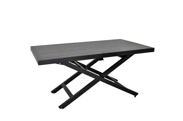 Bilde av Salina høydejusterbart bord 140x85 cm - sort